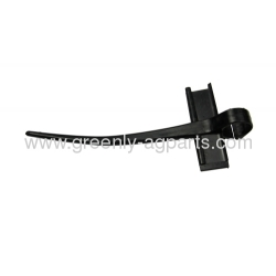 AH153175 John Deere combine poly reel finger with screw for use on platforms with pipe reels