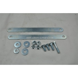N/M Hardware kit with braces included with a complete scraper kit