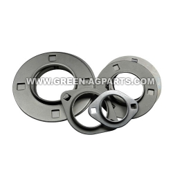 3 bolt hole round self aligning mounting flanges