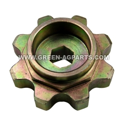 G233287 H233287 H221814 8 tooth john deere upper drive gathering chain sprocket