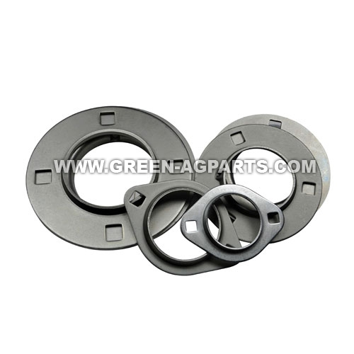 Triangular 3 Bolt hole self aligning mounting flanges