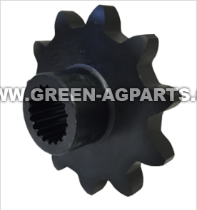 AH101339 Drive Sprocket, 11 tooth, spline bore. For John Deere bean head model 50A Series