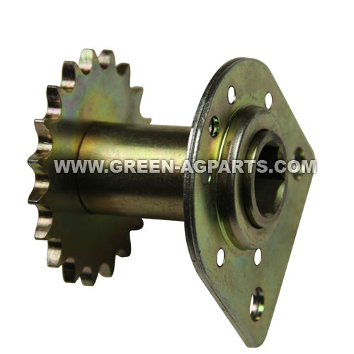 AA35645 John Deere  19 tooth Sprocket and bearing with standard for row unit
