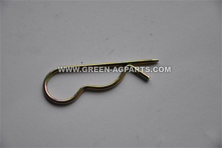 G312659 Agricultural Zinc plated R ring