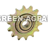 AA32729 14 tooth idler sprocket for 40 chain fits seed transmission on John Deere