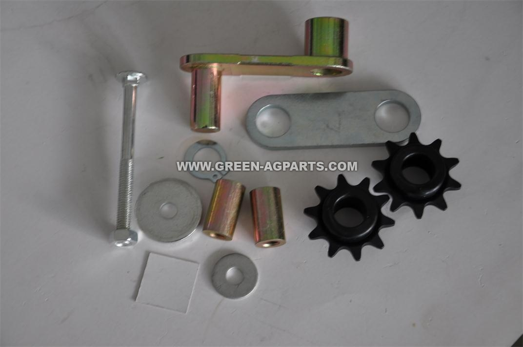 AA43277 Idler update Kit, including G55008 sprocket,G25369 Idler arm,  bushings, washers, and so on