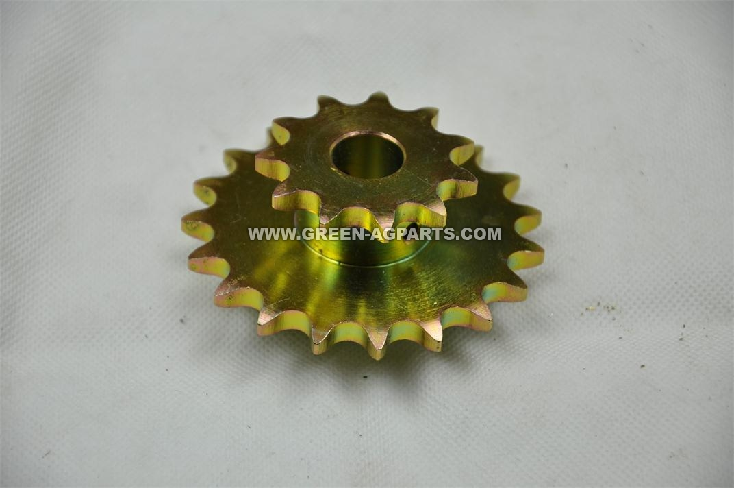 AA27146  Sprocket for hopper drive, 11 & 19 tooth (standard rate)