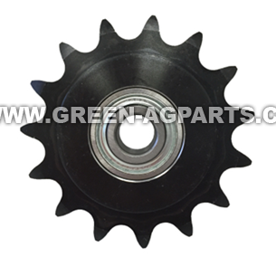 AE27909 ,AFH205780 Idler Sprocket, 15 teeth. Fits John Deere 50 & 50A bean head