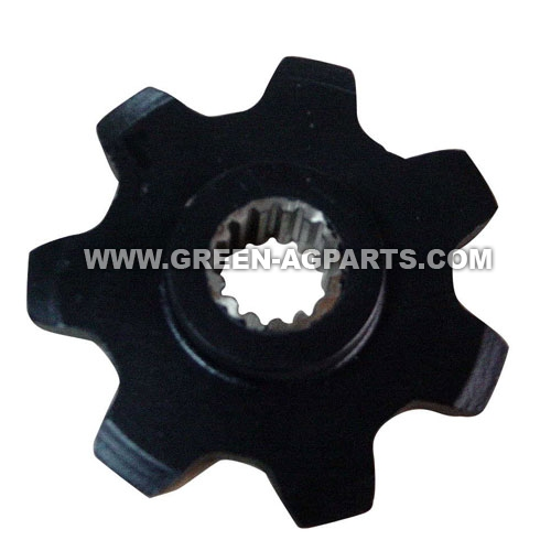 86837081 Case-IH 7 teeth upper drive chain gathering sprocket for cornheader