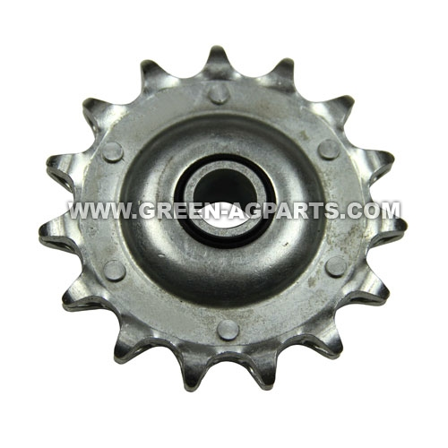 AG2437 Case-IH 15 teeth idler single pitch sprocket for cornheader