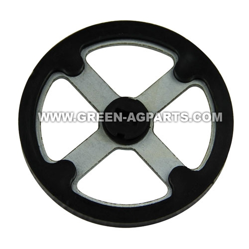 AA37221 John deere rorating scraper wheel with nylon cover