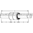 885118B P6310 421855M1 Glencoe MF double solid stem gauge wheel bearing