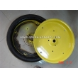 AA27780 Gauge wheel half,  yellow fits MaxEmerge for John Deere replacemnet